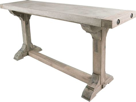 Casual Table Ls by Dimond Home Pirate 52 X 16 Concrete Wood Waxed