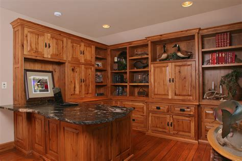 knotty hickory kitchen cabinets affordable custom cabinets showroom