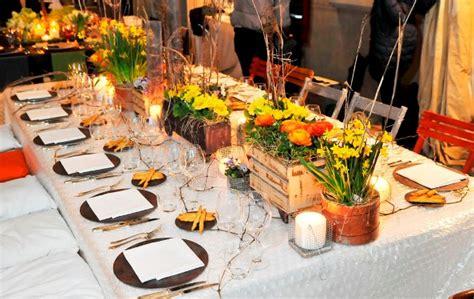 in tavola catering tendenza catering la tavola come un terrazzo urbano l