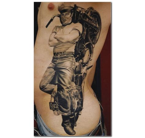 tattoo designs motorcycle motorcycle with biker
