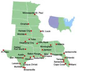 us map listing cities central u s cities mobility information