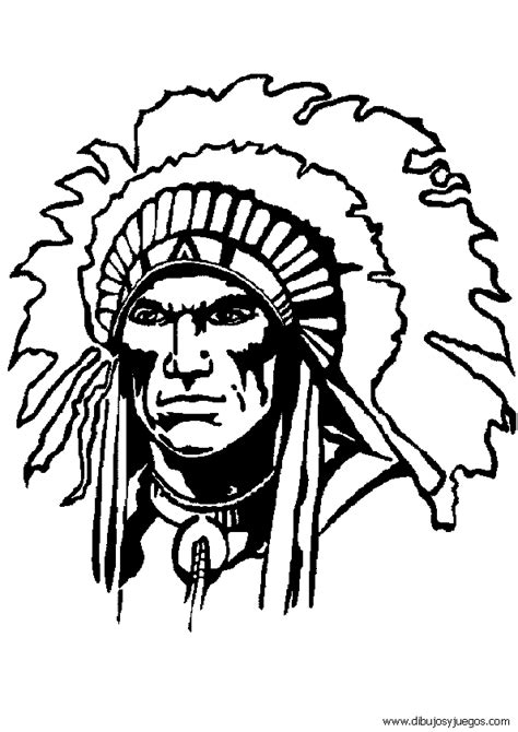 Dibujos De Indios Para Colorear Pictures To Pin On Indios Para Colorear