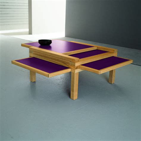 Expandable Coffee Table To Dining Table Cool Expandable Coffee And Dining Tables By Sculrtures Jeux Digsdigs
