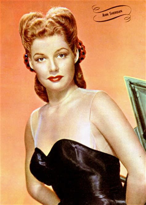 red head actress from 1940s classic movies images ann sheridan wallpaper photos 9661380