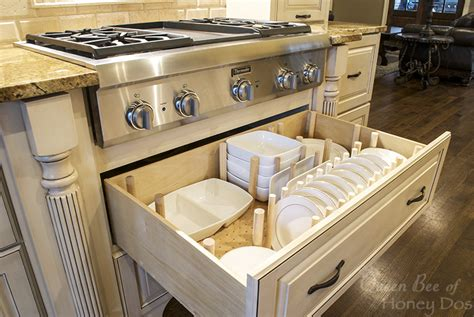Kitchen Drawers For Dishes How To Dish Drawer Organizer Bee Of Honey Dos