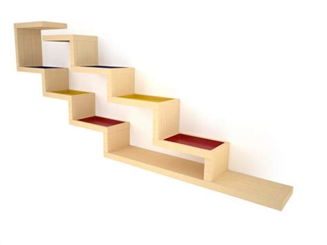 Zig Zag Wall Shelf by Alain Marzat Zig Zag Shelf