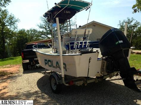 bowfishing boats for sale in oklahoma armslist for sale 17 polar kraft center console boat