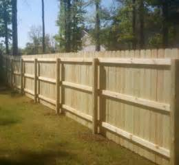 Wood privacy fence newhairstylesformen2014 com