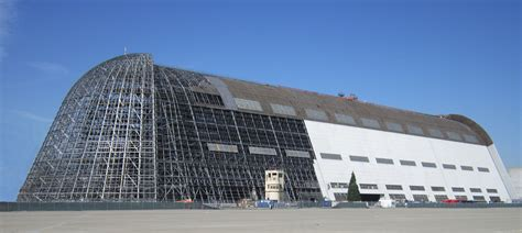 Where Is Hangar 1 by Wins Lease Of Iconic Former Blimp Hangar From Nasa