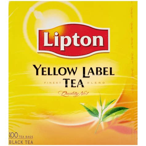 Detox Drink With The Yellow Label by Lipton Yellow Label Tea For Discount Prices Coop Home