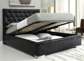 King Size Bed Feather And Black Bedroom Sets 4 Pc Bedroom Set Black