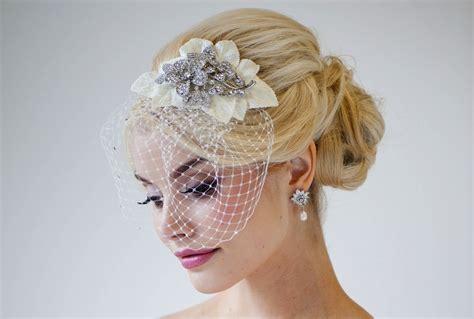 Handmade Birdcage Veil - fall winter wedding ideas handmade velvet treasures from