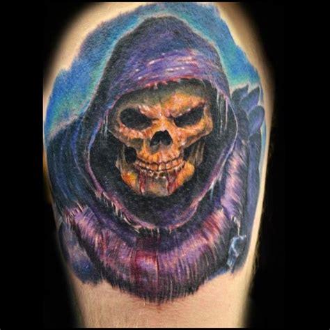 skeletor tattoo billrhine skeletor daverapoza skeletor skull