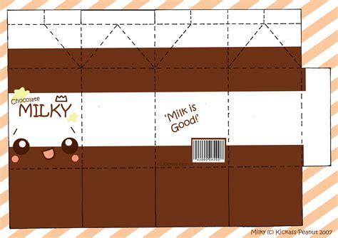 Kawaii Papercraft - milk papercraft yeahhakunamatata