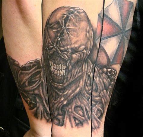 resident evil tattoo designs resident evil nemesis b o d y c a n v a s