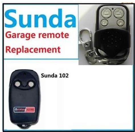 Sunda Garage Door Remote Control Replacement Garage Opener Garage Door Rolling Code