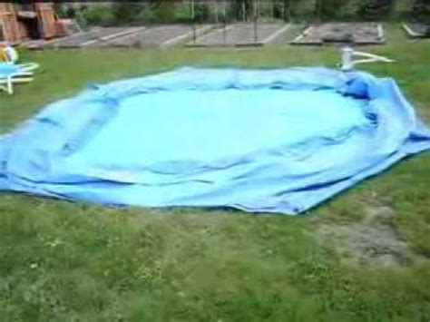 where to put a pool in your backyard problems setting up summer escapes quick set pool youtube