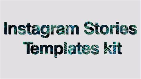 Instagram Stories Templates Kit After Effects Templates Motion Array Instagram Story Template After Effects