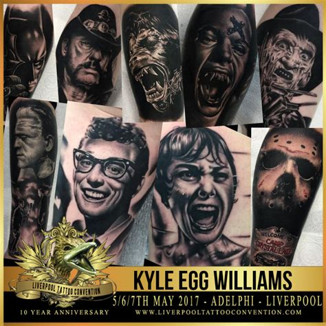 tattoo convention liverpool 2018 kyle egg williams liverpool tattoo convention