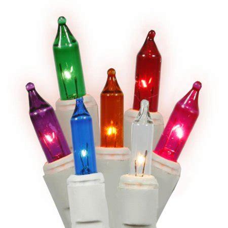 500 light multi color heavy duty mini lights set of 50 multi color mini twinkle lights white wire walmart