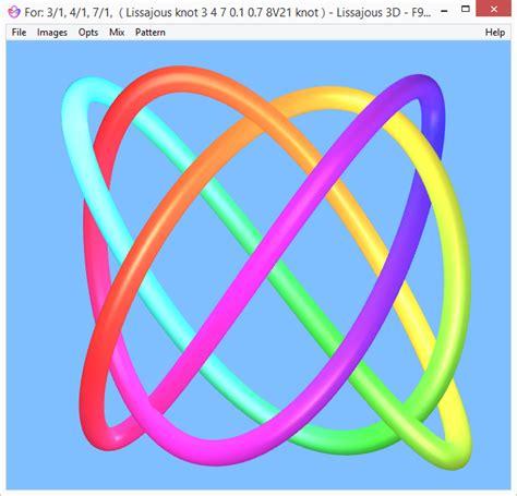lissajous pattern theory pure tones for healing harmonious lissajous knots