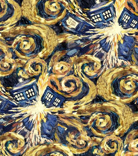 Dr Who Quilt Fabric by Doctor Who Exploding Tardis Cotton Fabric Jo