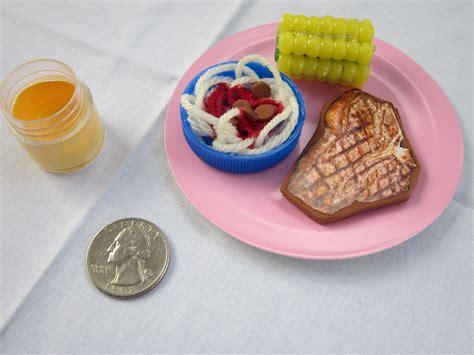 food dolls american doll food diy dinner american
