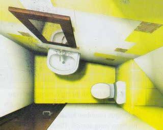 Lilin Hias Model Stack Satu Set desain kamar mandi kecil dan sederhana