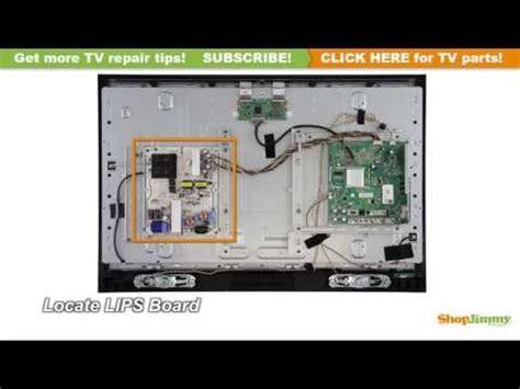 visio repair vizio lcd powers on with backlight wont power no