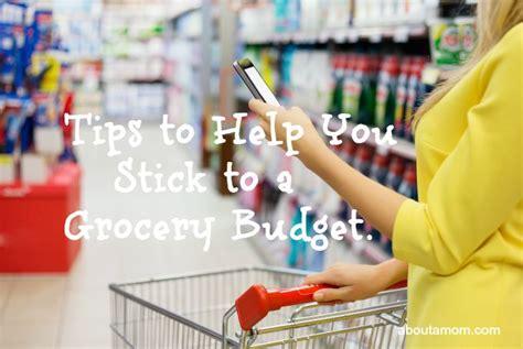 tips    stick   grocery budget   mom