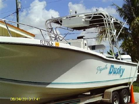 dusky boat manufacturers 1996 dusky marine 25 in miami fl boats yachts for sale