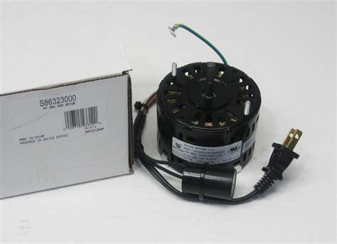 nutone fan motor ja2b089n 86323000 broan nutone bathroom exhaust vent fan motor