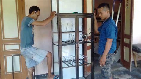 cara membuat rak dinding kaca cara membuat rak piring dapur minimalis kaca aluminium