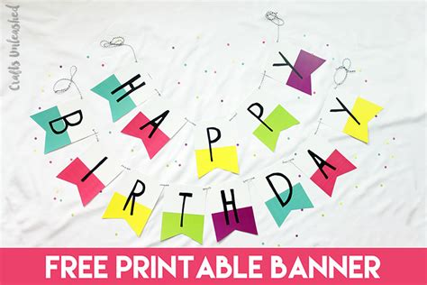 printable birthday pennant banner free printable banner happy birthday pennants consumer