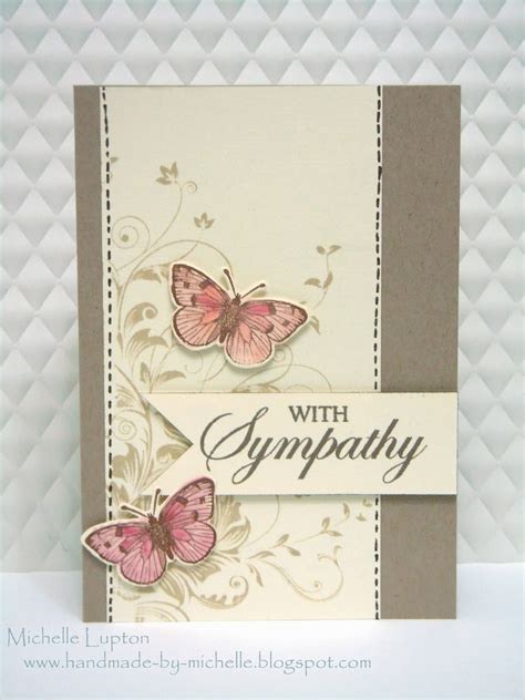 Handmade Sympathy Card - a named favourites of 2013 day 1