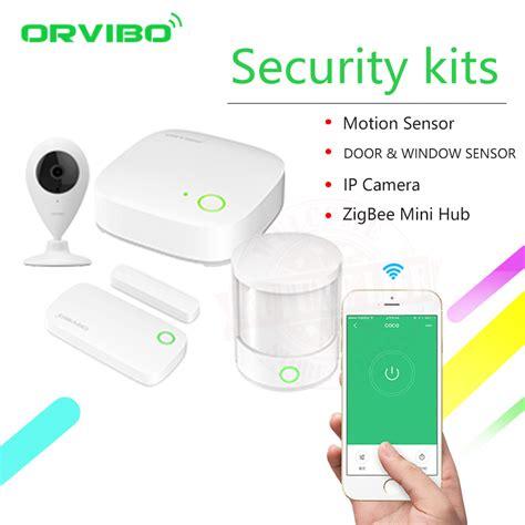 2018 orvibo zigbee smart home security kit pro controller hub smart remote zigbee motion