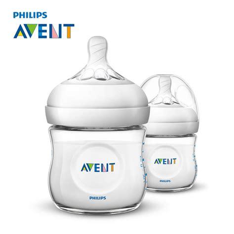 Promo Botol Bayi Baby Bottle Avent 125 Ml Wide Neck avent 2pcs baby feeding bottle 125ml infant milk bottle