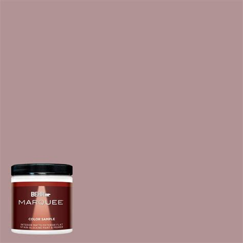 behr marquee 8 oz mq1 46 antoinette interior exterior paint sle mq30416 the home depot
