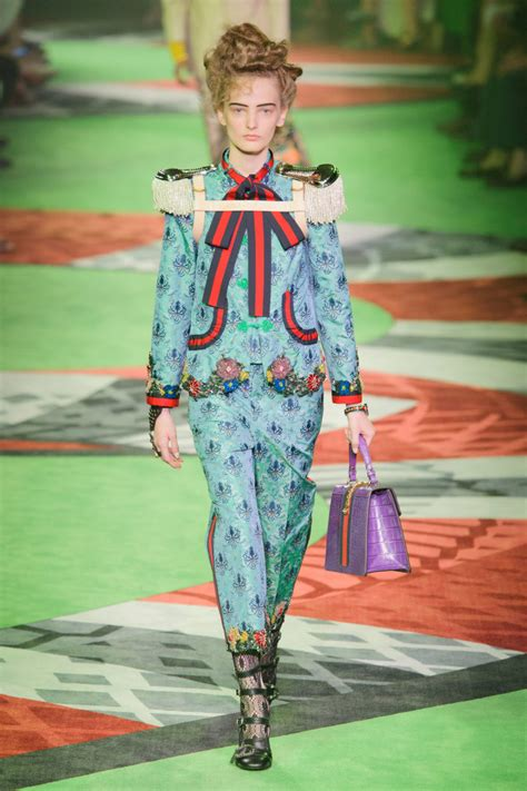 Fashion Gucci 3 Ruang 8 standout elements from the gucci s 2017 show fashionista