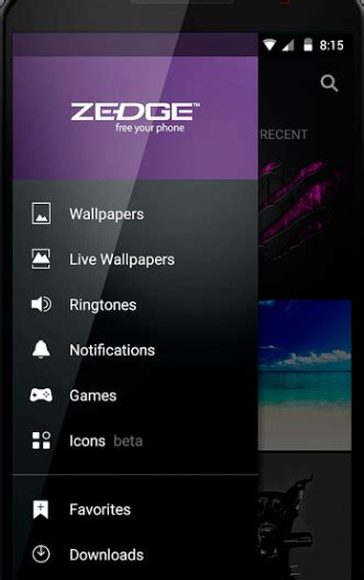 zedge app for android zedge app zedge ringtones wallpapers app for iphone and android
