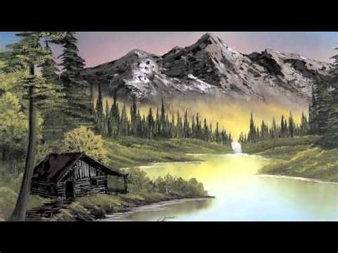 Bob Ross Painting Montage Gentlemint