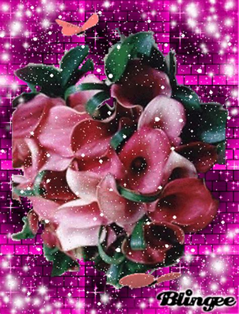 immagini animate di fiori immagine mazzo di fiori 110653261 blingee