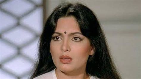 parveen babi trivia actor who did not recognize parveen babi without makeup