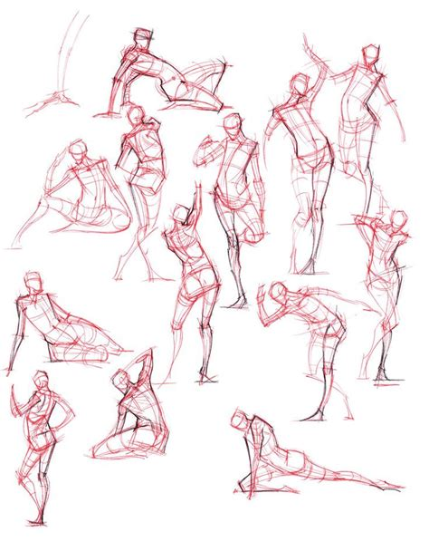 1 Minute Pose Sketches by 17 Best Ideas About Figure Drawing On Drawing