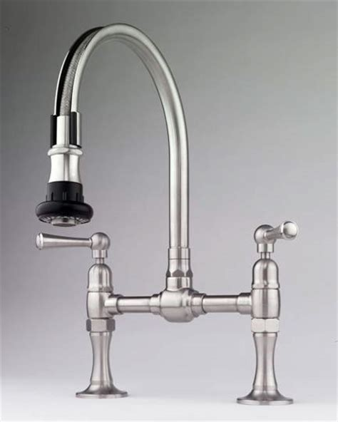 Bridge Faucets Kitchen by Steam Valve Original Deck Mount Bridge Faucets