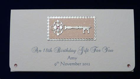 birthday cheque template 18th 21st birthday money gift voucher wallet any colour trim
