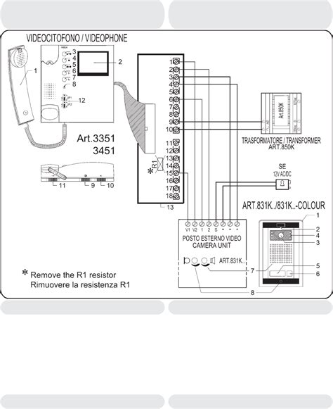 videx wiring diagram with commax intercom wiring diagram