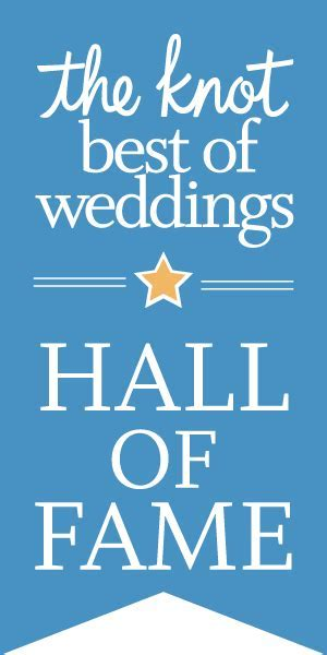 The Knot Best of Weddings Hall of Fame   Michael Anderson