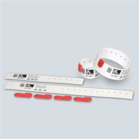 Clips ROUGE pour bracelet Quickclip ZEBRA   myZebra