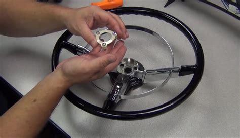 installing    gm steering wheel   ididit